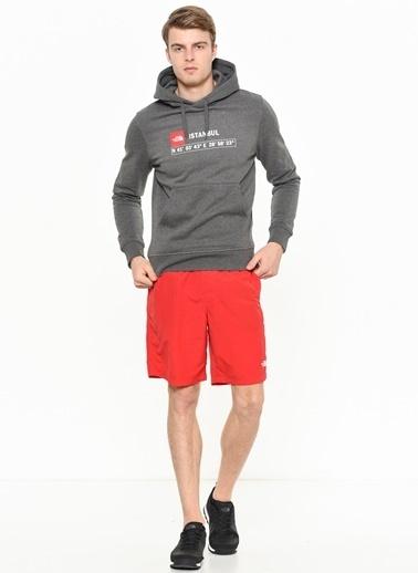 The North Face Kapüşonlu Sweatshirt Gri
